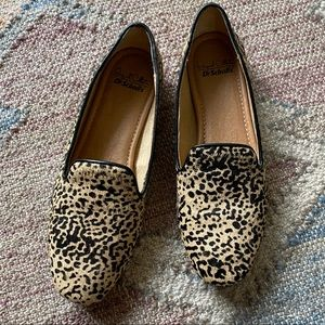 Dr. School's Shoes Spotted Calf Hair Flats, sz 6.5